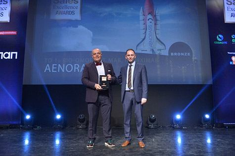 Βράβευση της Aenorasis στα Sales Excellence Awards 2017