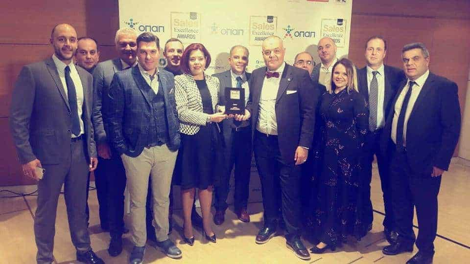 Βράβευση της AENORASIS στα SALES EXCELLENCE AWARDS 2017